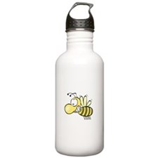 Blushing Bee Water Bottle