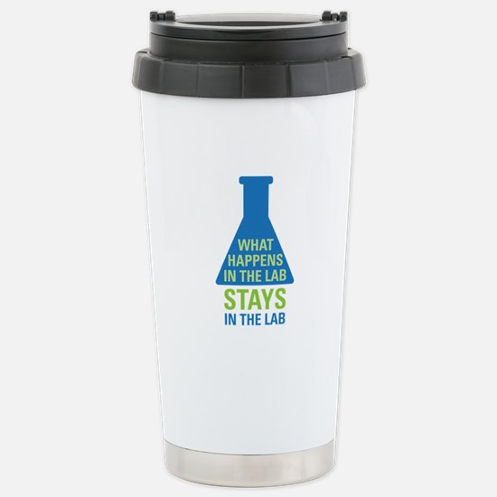 In The Lab Stainless Steel Travel Mug