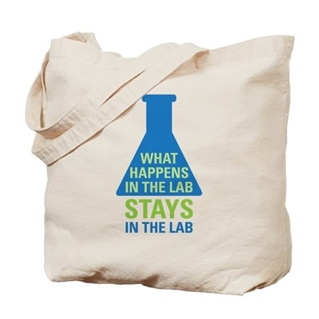 In The Lab Tote Bag