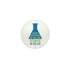In The Lab Mini Button (10 pack)