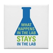 In The Lab Tile Coaster