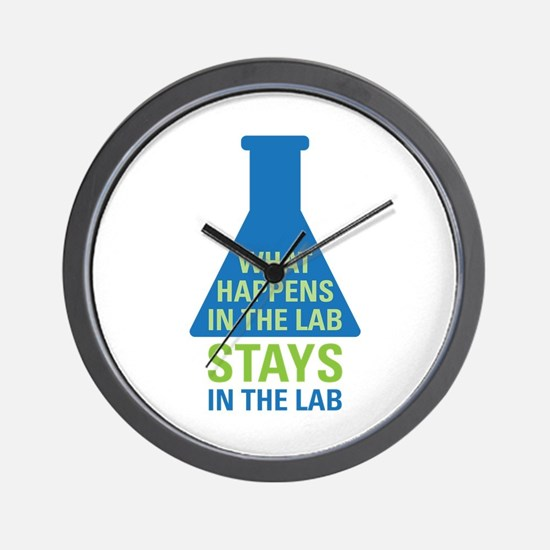 In The Lab Wall Clock