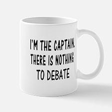 NOTHING TO DEBATE Mug