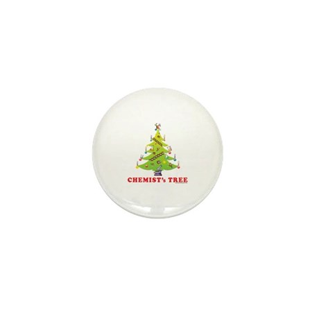 Chemist's Tree! Mini Button (10 Pack)