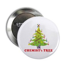 "Chemist's TREE! 2.25"" Button (10 pack)"