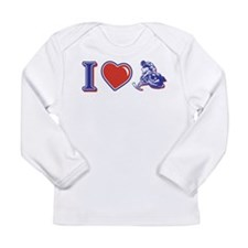I love Snowmobiling Long Sleeve Infant T-Shirt