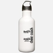 "Cheer Coach ""believe"" Water Bottle"