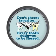 Funny Dental Wall Clock