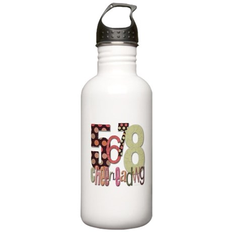 5678 Cheerleading Stainless Water Bottle 1.0L