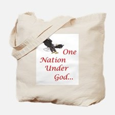 One Nation Under God Tote Bag