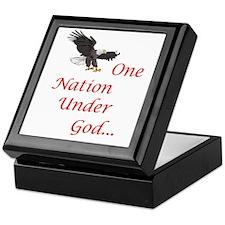 One Nation Under God Keepsake Box