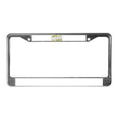 May the Nerd License Plate Frame