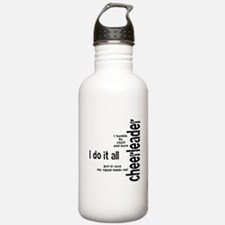 "Cheerleader ""I Do It All"" Water Bottle"
