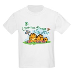 Conserve Energy Take A Nap Kids T-Shirt