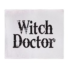 Witch Doctor Throw Blanket