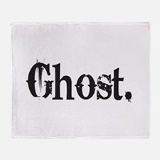 Grunge Ghost Throw Blanket
