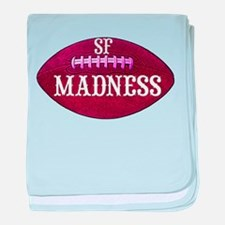 Madness baby blanket