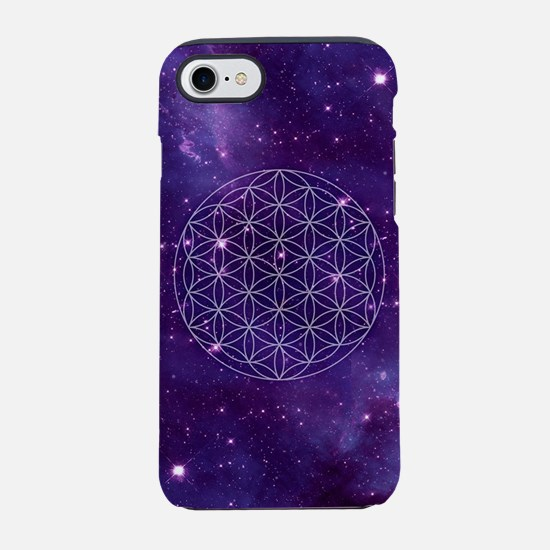 Flower Of Life Motif iPhone 7 Tough Case