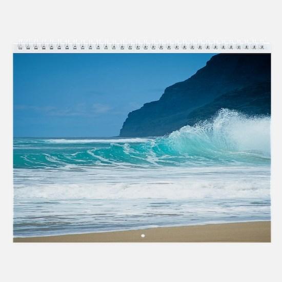 Hawaii Beaches-Kauai Wall Calendar