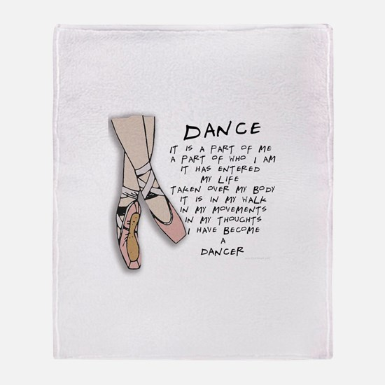 Dance Throw Blanket