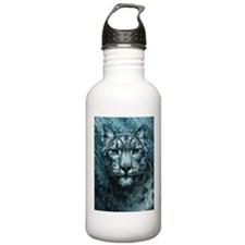 Snow Leopard Sports Water Bottle