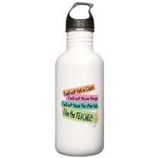 I Am the Teacher Water Bottle