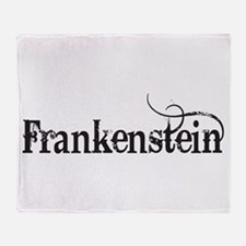 Frankenstein Throw Blanket