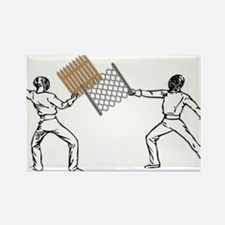 Fencing Rectangle Magnet