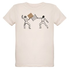 Fencing Organic Kids T-Shirt
