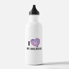 military valentine Water Bottle