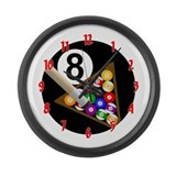 Billiards Giant Clocks