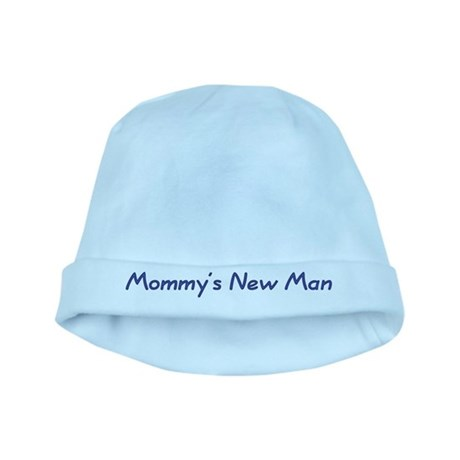 Mommy's New Man baby hat
