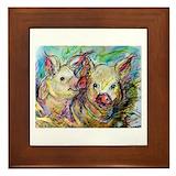 Pig Framed Tiles