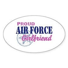 Proud Air Force Girlfriend Decal