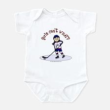 Light Hockey Girl Infant Bodysuit