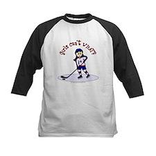 Light Hockey Girl Tee