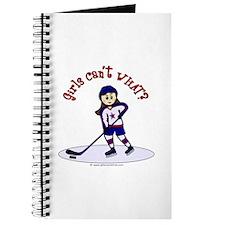 Light Hockey Girl Journal