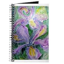 Irises, Pretty, Flowers, Journal