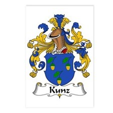Kunz Postcards (Package of 8)