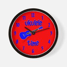 Ukulele Time Wall Clock
