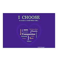 I CHOOSE Postcards (Package of 8)