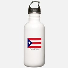 Puerto Rican Flag Water Bottle