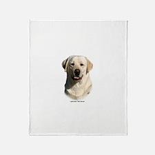 Labrador Retriever 9Y383D-267 Throw Blanket