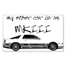 My other Car is an MK3 Decal
