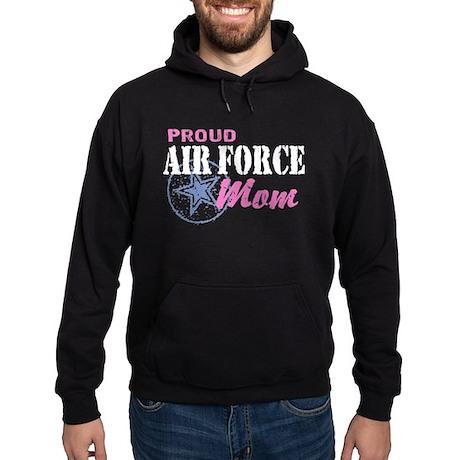 Proud Air Force Mom Hoodie (dark)
