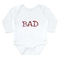 BAD Long Sleeve Infant Bodysuit