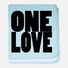 ONE LOVE baby blanket
