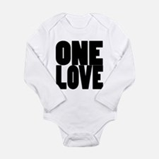 ONE LOVE Long Sleeve Infant Bodysuit