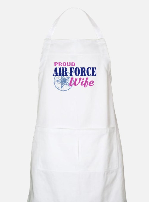 Proud Air Force Wife Apron