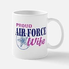 Proud Air Force Wife Mug